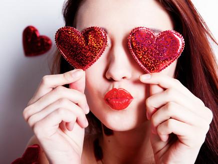 ולנטיינ'ס - יום האהבה (צילום: shutterstock ,מעריב לנוער)
