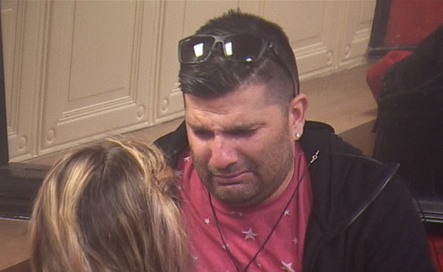 דודו בוכה בנסט  (צילום: מתוך האח הגדול 7 ,שידורי קשת)