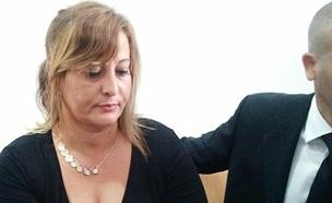 ליליאן פרץ מגיבה לניצחונו של מני נפתלי (צילום: פוראת נסאר)