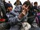 סורים, פליטים (צילום: SKY NEWS)