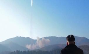 שיגור טיל, דרום קוראה (צילום: חדשות 2)