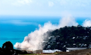 רעידת האדמה בניו זילנד הבוקר (צילום: רויטרס)