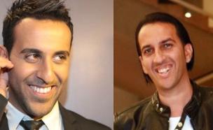 דודו אהרון ואליקו (צילום: אמיר מאירי, ענבל צח ,יחסי ציבור ערוץ 8)