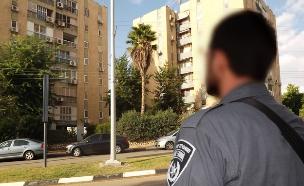השוטר חיסל מחבל בשנית (צילום: שי לוי)