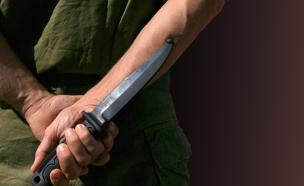 סכין, דקירה, חייל, רצח (צילום: פלאש 90 - חן לאופולד)