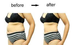 דיאטה לפני אחרי