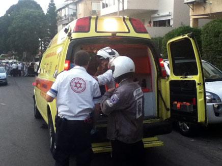 אנשי ההצלה נאלצו לקבוע את מותו. אילוסטרצ (צילום: חדשות 24)
