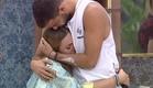 עמרי וקסניה מתחבקים (צילום: מתוך האח הגדול 7 ,שידורי קשת)