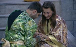 שי חי מציע לתניה נישואים (צילום: מתוך האח הגדול 7 ,שידורי קשת)