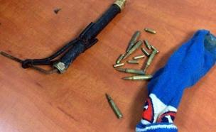 הנשק המאולתר (צילום: דוברות המשטרה)
