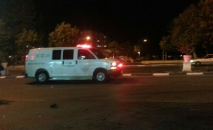 """רצף תאונות קשות משעות הערב (צילום: צ'יקו חדד, תיעוד מבצעי מד""""א)"""