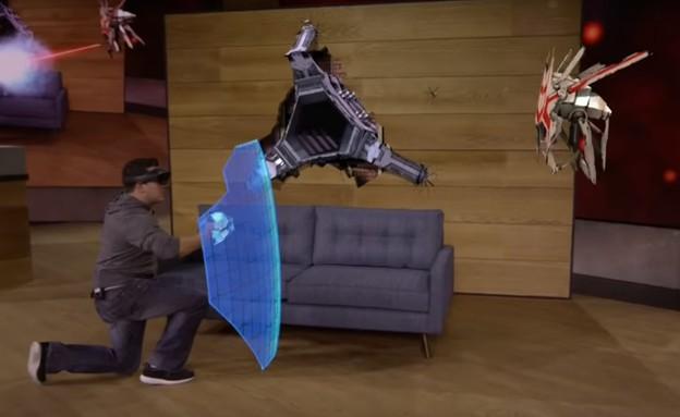 משחק פלישת חייזרים RoboRaid של מיקרוסופט (צילום: מיקרוסופט)