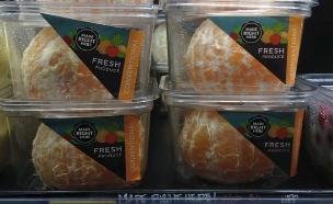 תפוזים מקולפים בקופסאות(טוויטר)