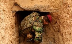 """המנהרות של ארגון דאע""""ש (צילום: Hamit Huseyin/Anadolu Agency/Getty Images)"""