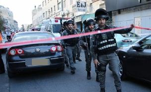 זירת הפיגוע בירושלים (צילום: מדברים תקשורת)