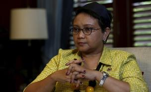 שרת החוץ של אינדונזיה (צילום: רויטרס)