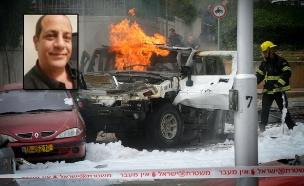 פיצוץ בתל אביב (צילום: Roni Schutzer / Flash 90)