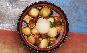 אגדאשי טופו של מסעדת אונמי (צילום: בן יוסטר ,אוכל טוב)