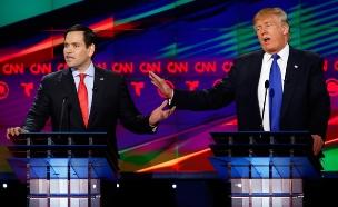 רוביו וטראמפ. מי ינצח בפלורידה? (צילום: רויטרס)