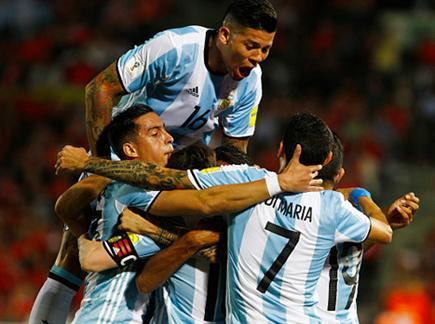 ארגנטינה חוגגת. ניצחון חוץ יקר מפז בסנטיאגו (getty)(ספורט 5)