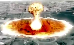 צפו: הסרטון המאיים של קוריאה הצפונית (צילום: יוטיוב)