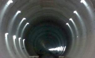צפו: מסע מרהיב במנהרות הרכבת בדרך לבירה (צילום: חדשות 2)