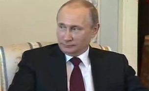 מקורבים הרוויחו כספים רבים. פוטין (צילום: skynews)