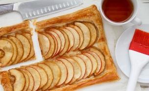 """טארט תפוחים מהיר מוכן (צילום: עידית נרקיס כ""""ץ ,אוכל טוב)"""