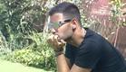 עמרי בחצר (צילום: מתוך האח הגדול עונה 7, שידורי קשת)