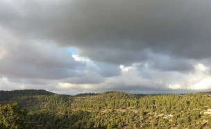 היום מעונן חלקית - ממחר גשם (צילום: חדשות 2)