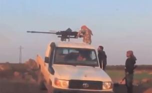 תיעוד פעילות הכוחות הירדנים בסוריה (צילום: יו טיוב)