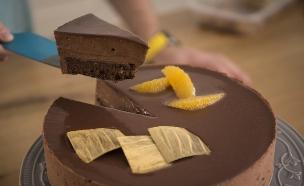 עוגת שוקולד הדרים של צבי ויובל (צילום: רועי ברקוביץ ,אוכל טוב)