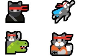 אימוג'י חתול נינג'ה (צילום: Emojipedia)