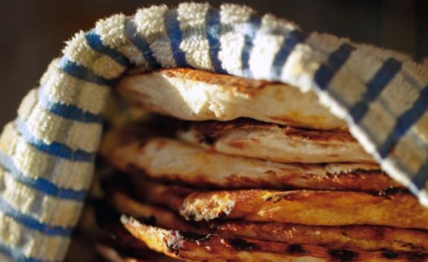 פיתה יוונית, גרקו (צילום: דן פרץ ,גרקו, מטבח יווני)