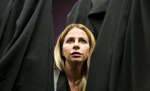 ענבל אור בבית המשפט המחוזי בתל אביב (צילום: עופר וקנין ,TheMarker)