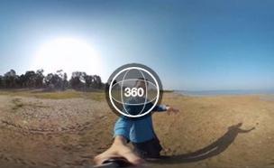 סרטון 360 מעלות של אלעד זהר (צילום: חדשות 2)