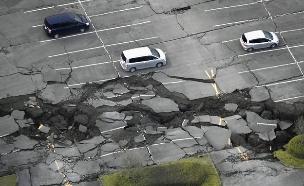 האדמה רעדה גם ביפן (צילום: רויטרס)