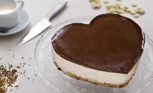 עוגת מוס נס קפה (צילום: דרור עינב ,אוכל טוב)