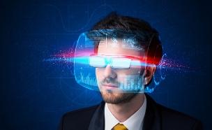 משקפי מציאות מדומה (צילום: ShutterStock ,ShutterStock)