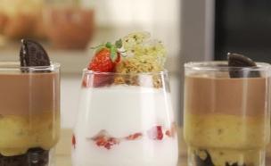קינוח כוסות (צילום: רועי חבני ורועי ברקוביץ' ,אוכל טוב)