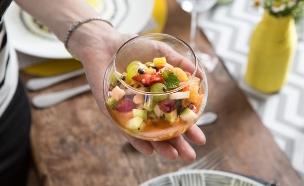סלט פירות (צילום: דרור עינב ,אוכל טוב)