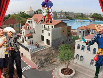 אירועי פסח לילדים 2015 - מיני ישראל