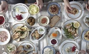 מסעדת השקד (צילום: אנטולי מיכאלו ,אוכל טוב)