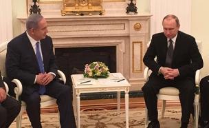 """נשיא רוסיה ולדימיר פוטין ורה""""מ בנימין נתניהו"""