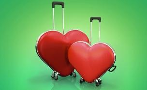 מזוודת לב (צילום: shutterstock)