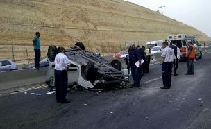 שני הרוגים בתאונות תוך שעה (צילום: דוברות אגף התנועה)