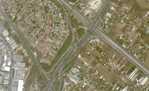 בדרך לחג (צילום: Google Earth)