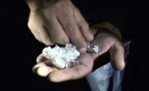 סןחר הסמים של פרינס מדבר (צילום: חדשות 2)