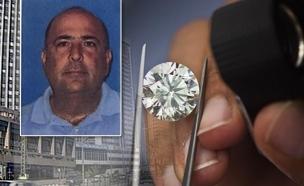 חנן אברמוביץ, הבורסה ליהלומים (צילום: חדשות 2)