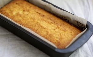 עוגת ריקוטה ולימון לפסח (צילום: קרן אגם ,אוכל טוב)